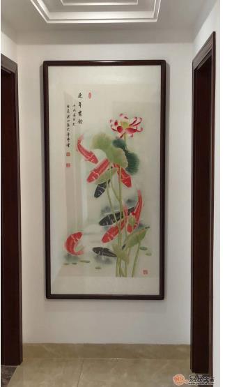 走廊尽头墙上挂什么风水画 旺运聚财就选花鸟画